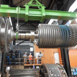 Service de maintenance programmée pour turbomachines