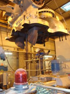 Intervention des équipes de SPIE Turbomachinery à Golbey