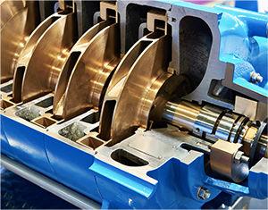 Services de maintenance et réparation de compresseur de diverses turbomachines