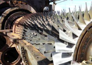 Turbine à gaz réparée par SPIE Turbomachinery