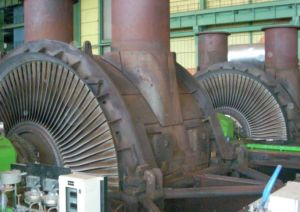 Steam turbines repairs carried out by SPIE Turbomachinery
