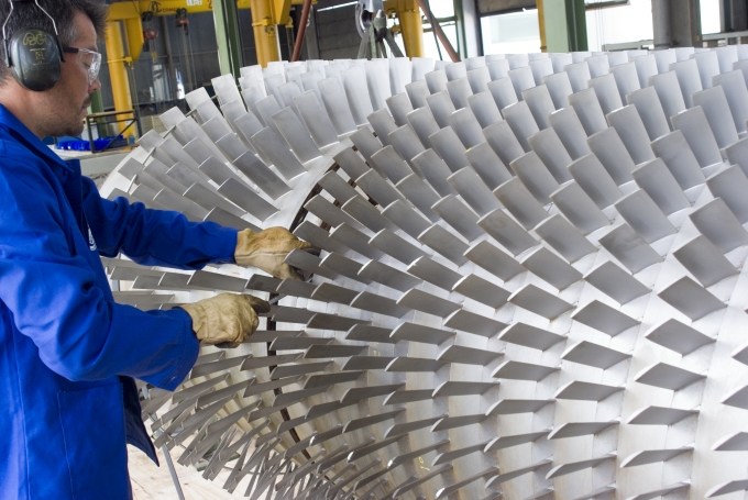 Rotor repair of a gas turbine by SPIE Turbomachinery